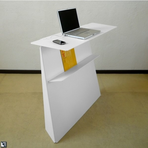 Beautiful Computer Desk With a White Color | casaresidence com