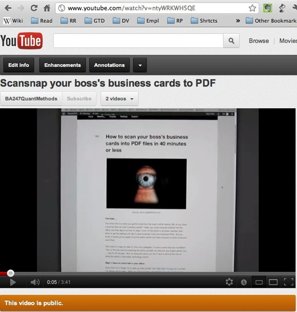 How to scan your bosss business cards to pdf in less than 40 how to scan your bosss business cards to pdf in less than 40 minutes get back on the gtd band wagon reheart Image collections