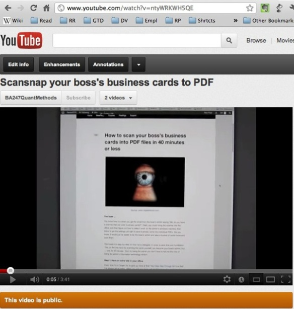How to scan your bosss business cards to pdf in less than 40 bosscardscan reheart Images