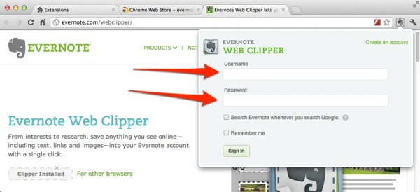Why and How to install Evernote Web Clipper | Get (back) on