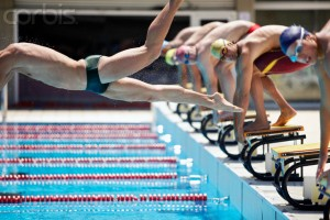 False Start in Swimming Competition